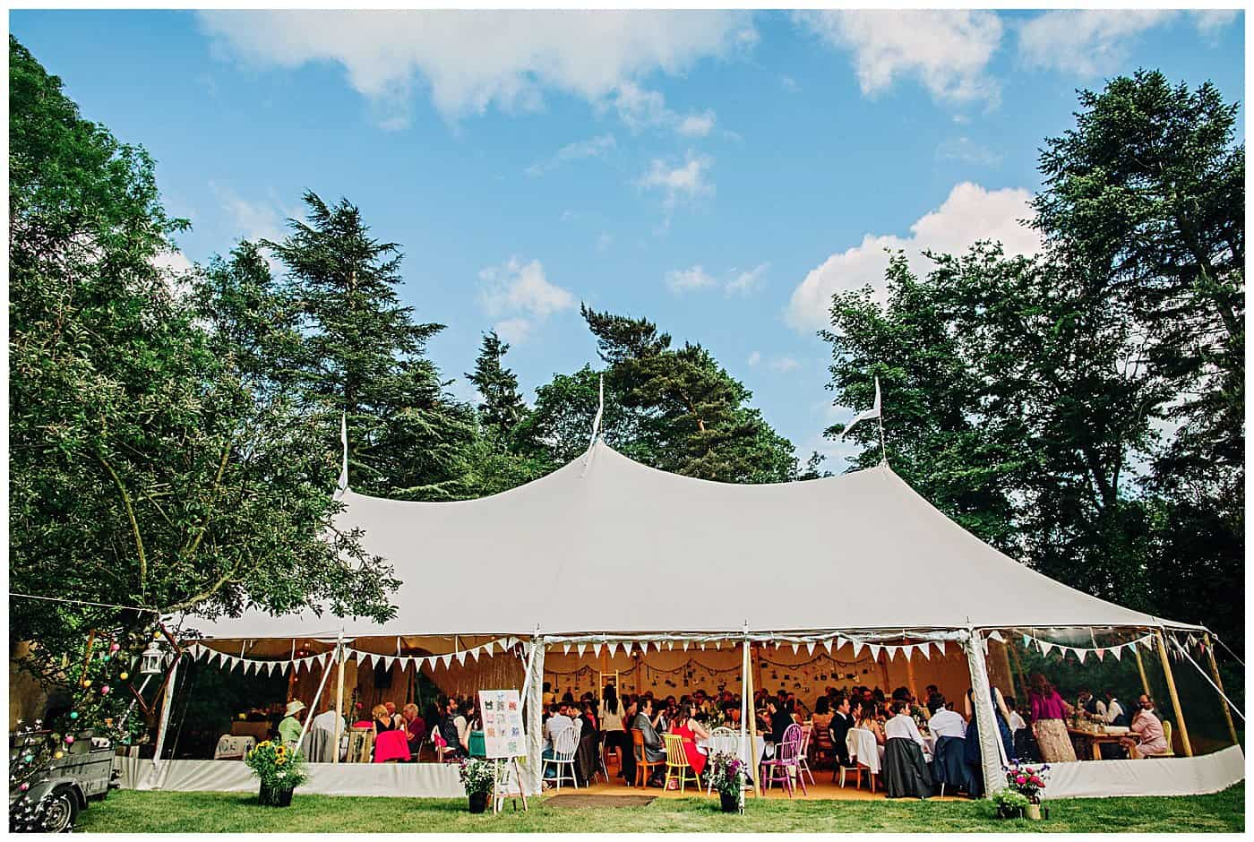 Woodthorpe Hall Tipi Wedding