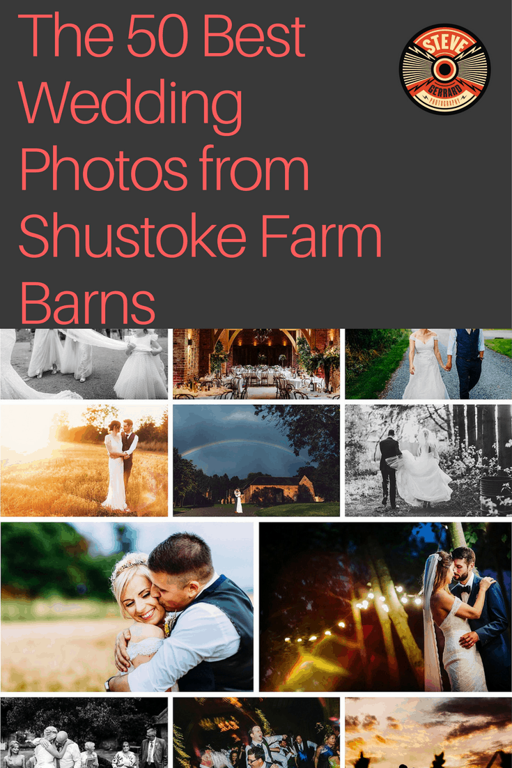 The Best Wedding Photos from Shustoke Farm Barns