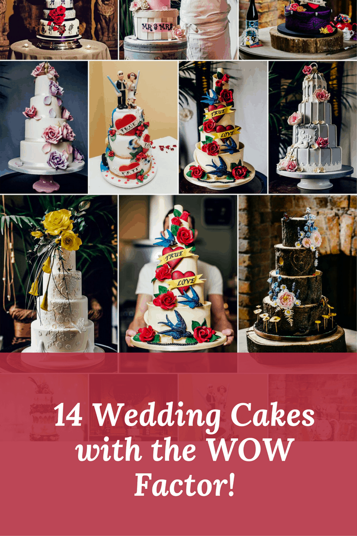 wedding cakes with the wow factor