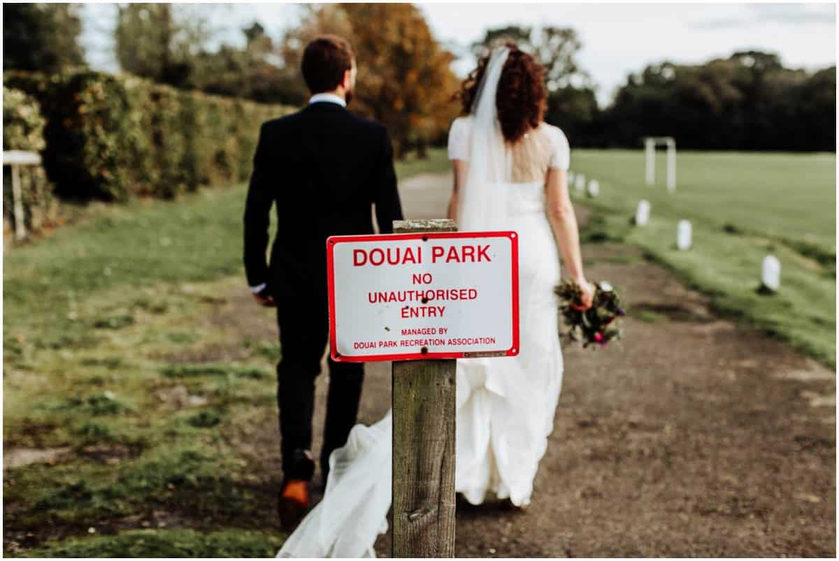 Douai Park wedding
