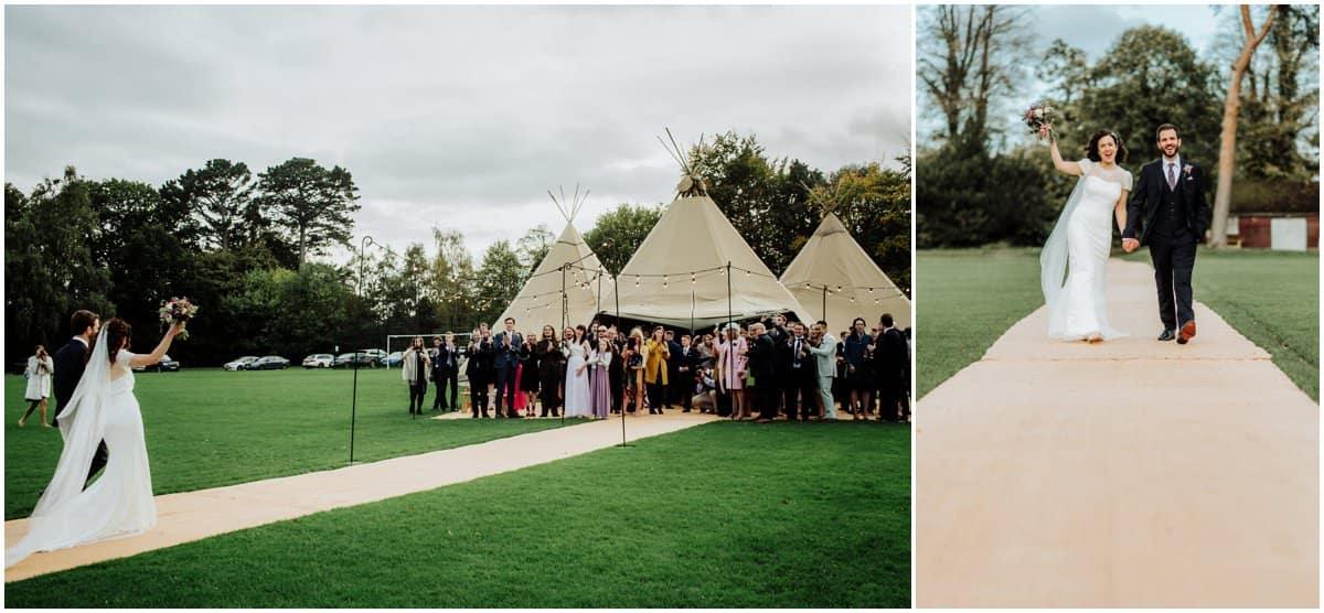 Woolhampton cricket club wedding reception