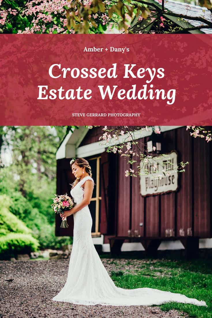 weddings at crossed keys estate