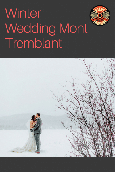 winter wedding photography mont Tremblant