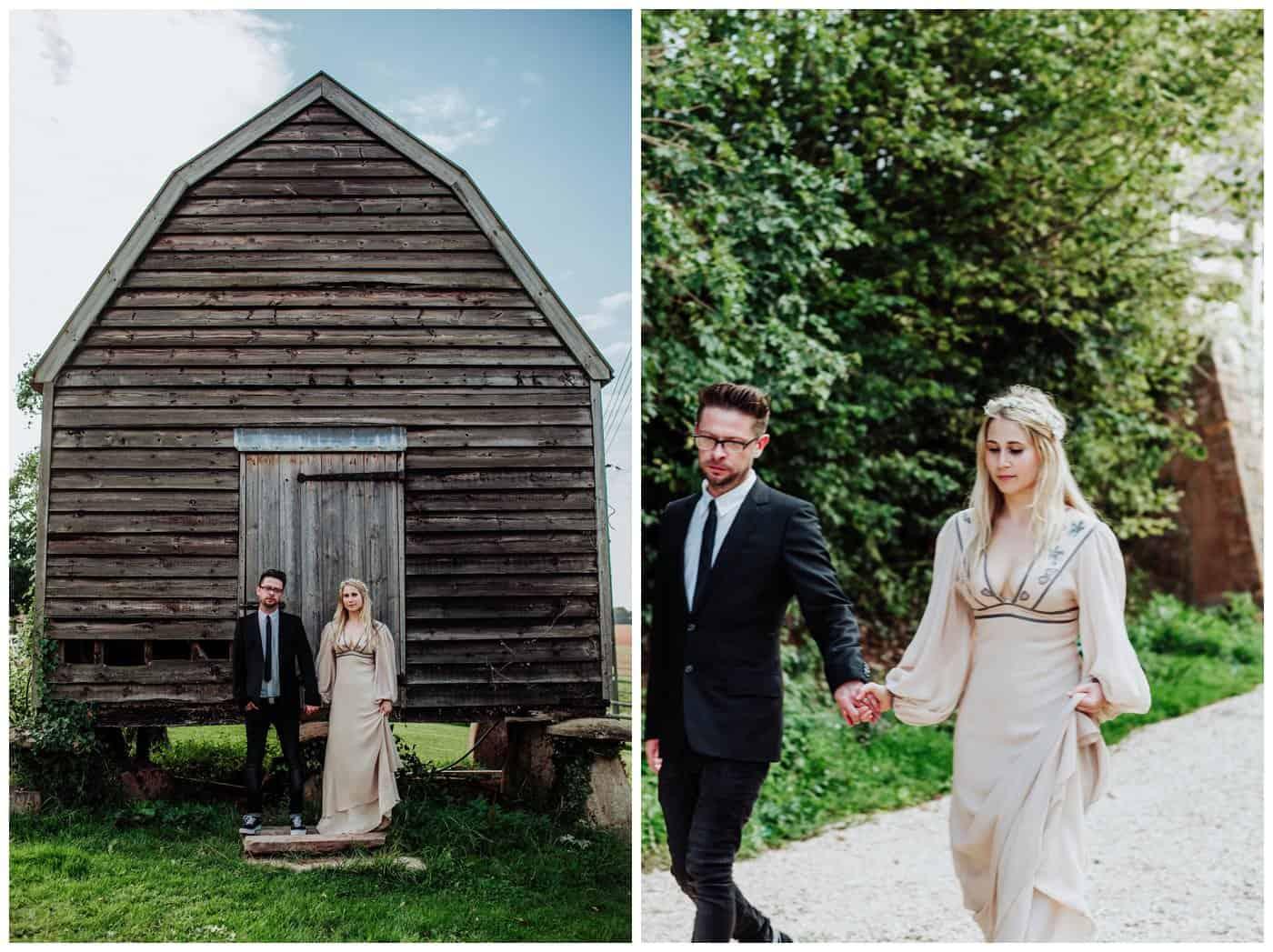 Huntstile Organic Farm Wedding Photos