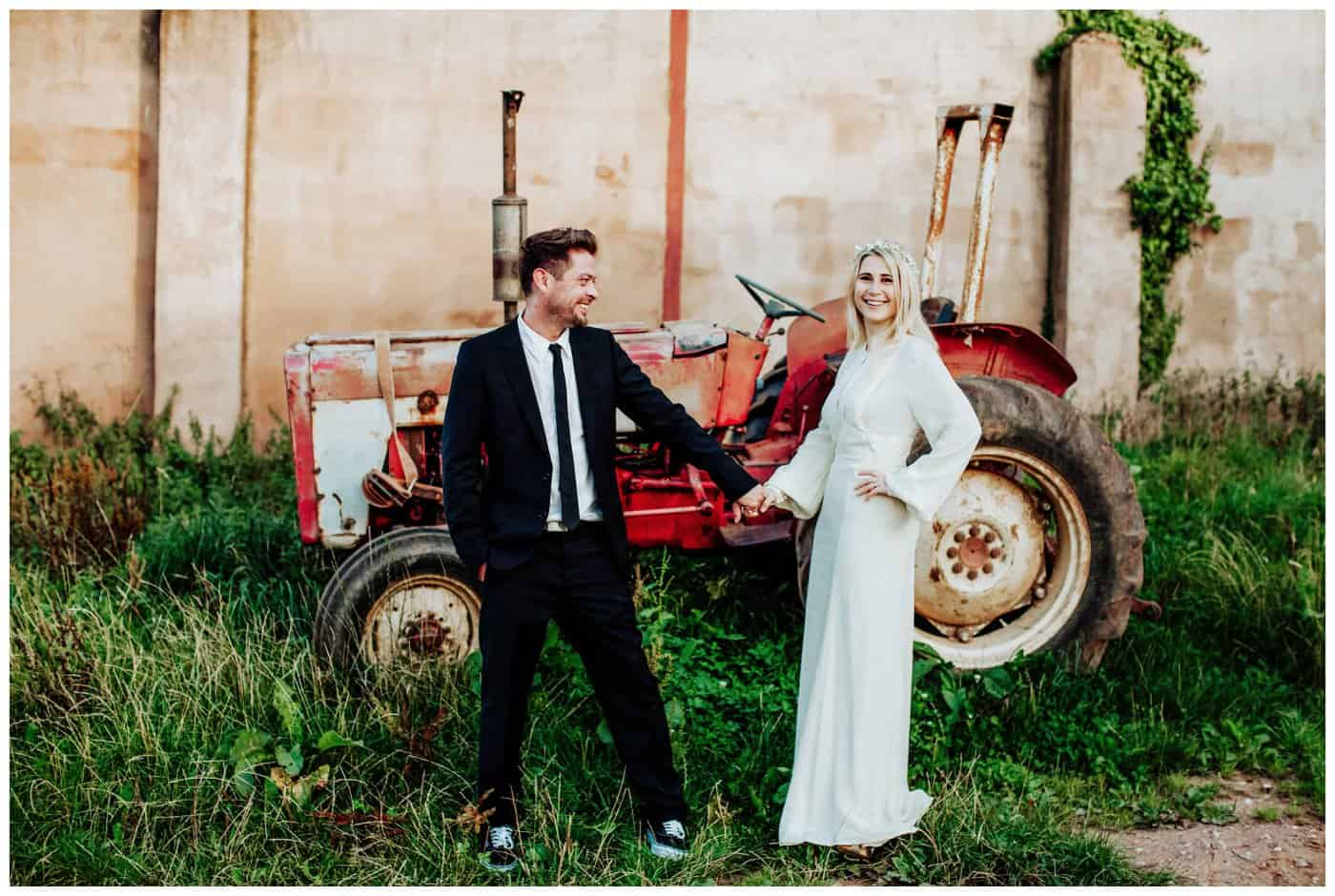 Huntstile Organic Farm Wedding Photographs