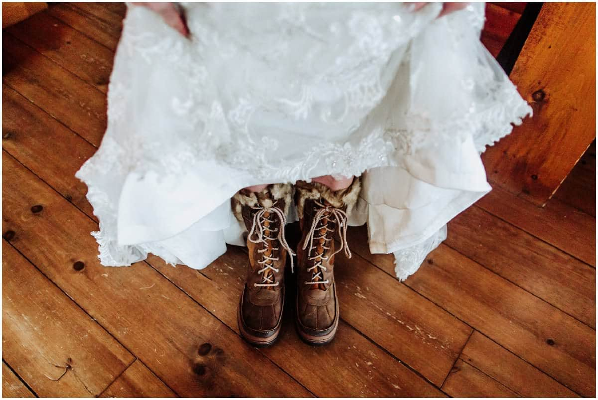 Bride winter boots