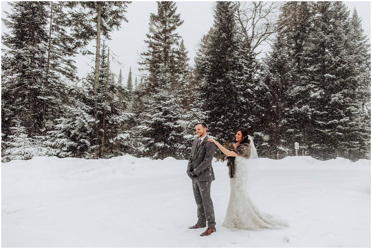 Tremblant wedding photos