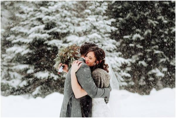 mont tremblant winter wedding
