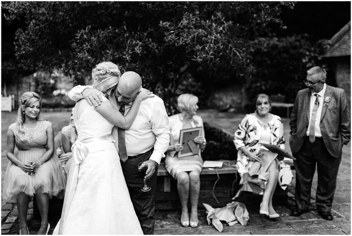 Shustoke Farm Barns documentary wedding photography