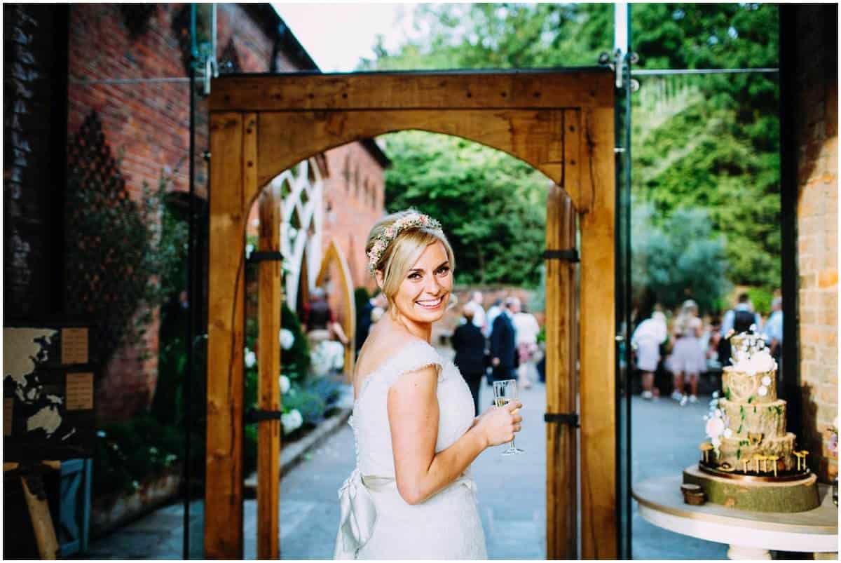 Shustoke Farm Barns relaxed wedding photography