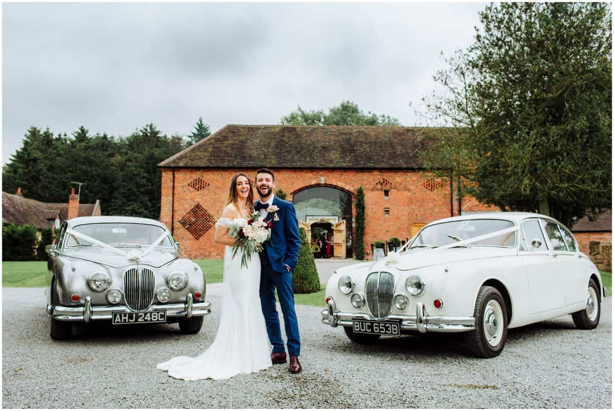 Shustoke Farm Barns informal wedding photography