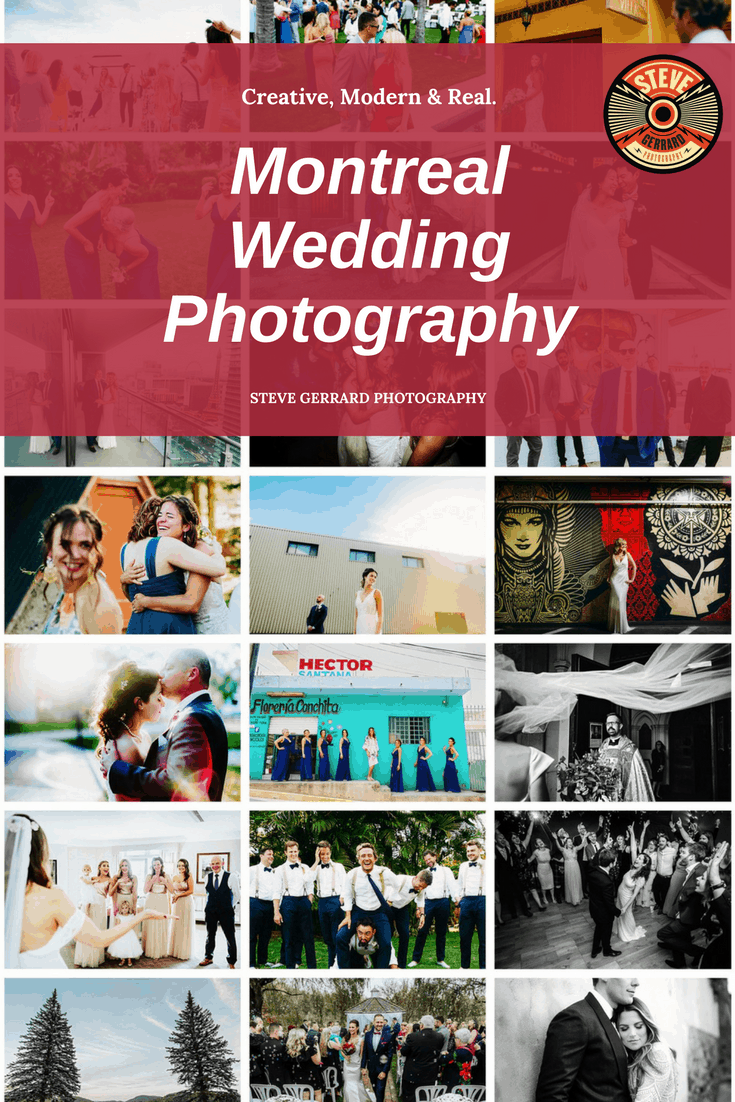 I'm a wedding & portrait photographer based in Montreal, Quebec but also a destination wedding photographer. Originally from the UK, I've been shooting weddings for over ten years and have shot at all kinds of locations and wedding reception venues.