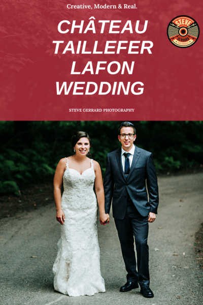Wedding at CHÂTEAU TAILLEFER LAFON