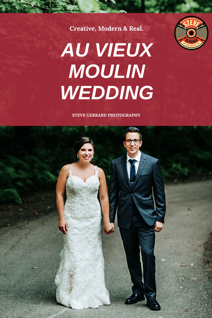 I love shooting weddings at venues wedding at AU VIEUX MOULIN in Rigaud, close to Montreal. Such an amazing wedding venue, especially for outdoor wedding ceremonies!
