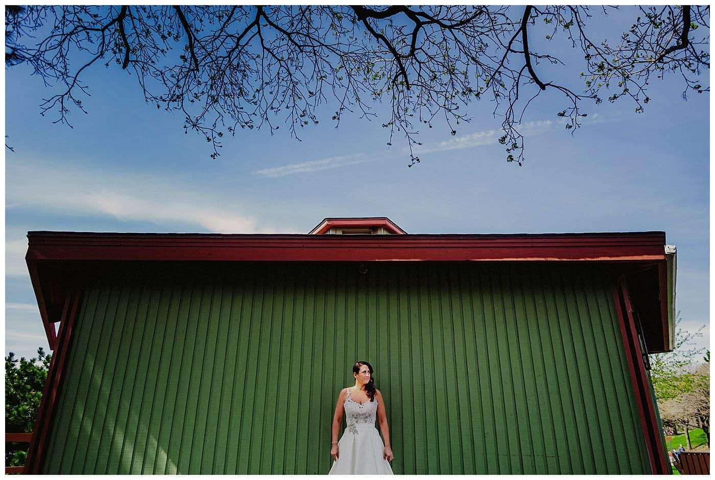montreal bride portrait