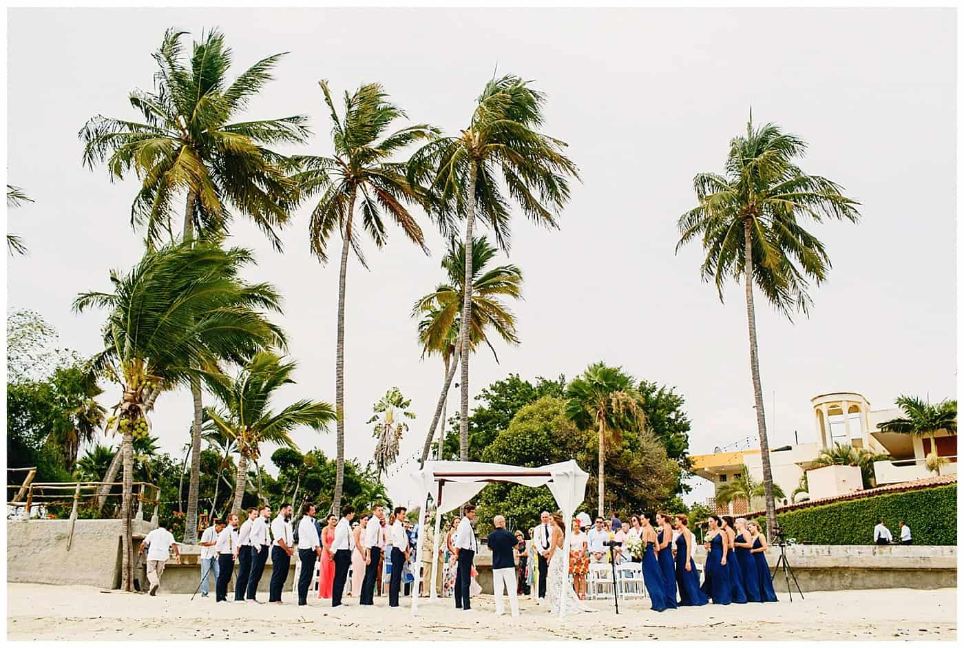Martoca Beach Garden beach wedding
