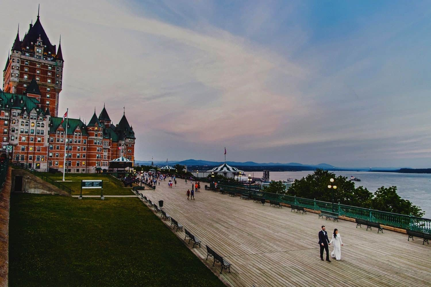 Quebec City Pre-wedding photos