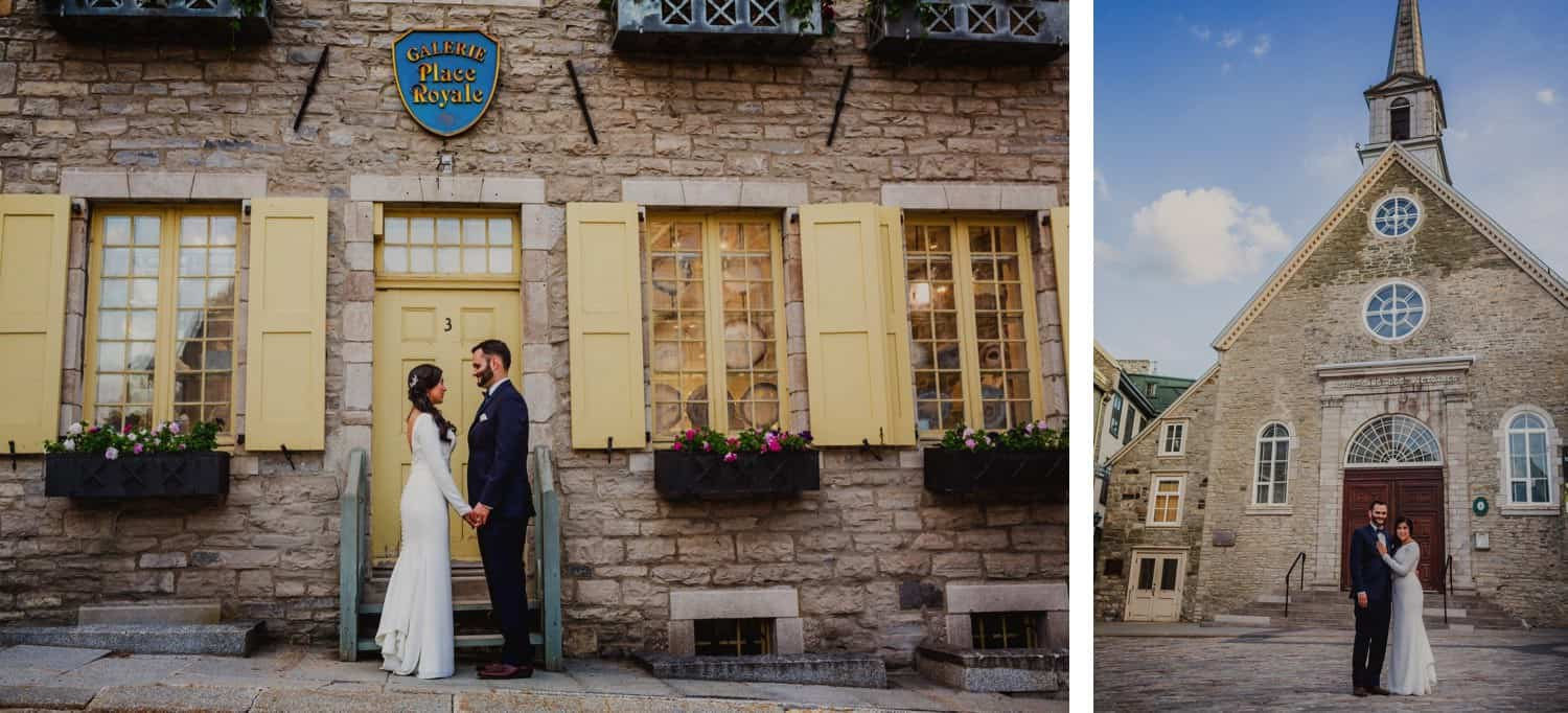 Quebec City Pre-wedding photography