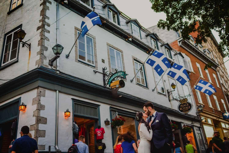 Quebec City Pre-wedding photographer