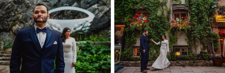 Quebec City Pre-wedding photographers