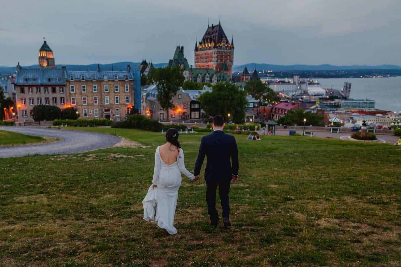 Quebec City wedding photography