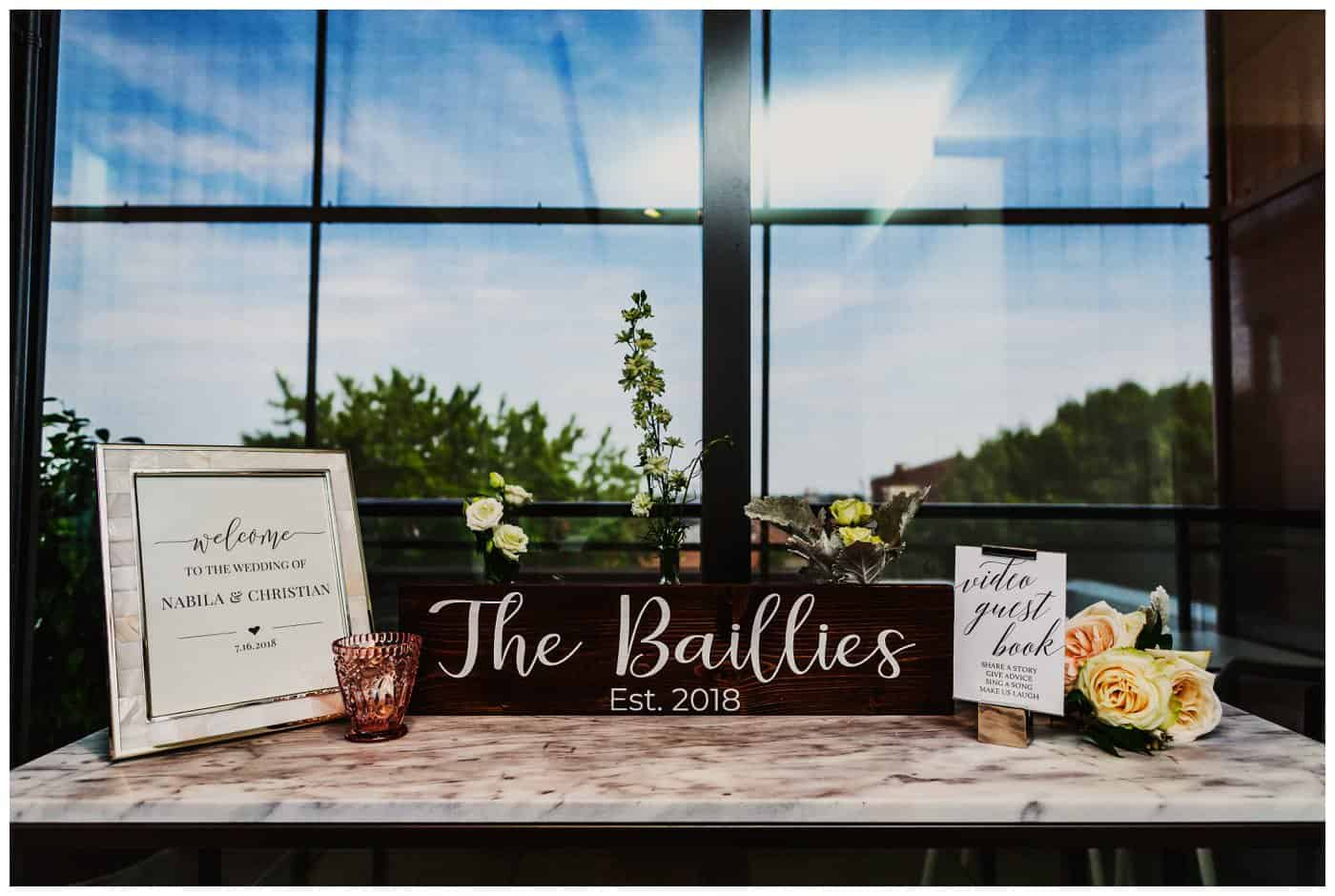 William Grey Hotel Wedding details