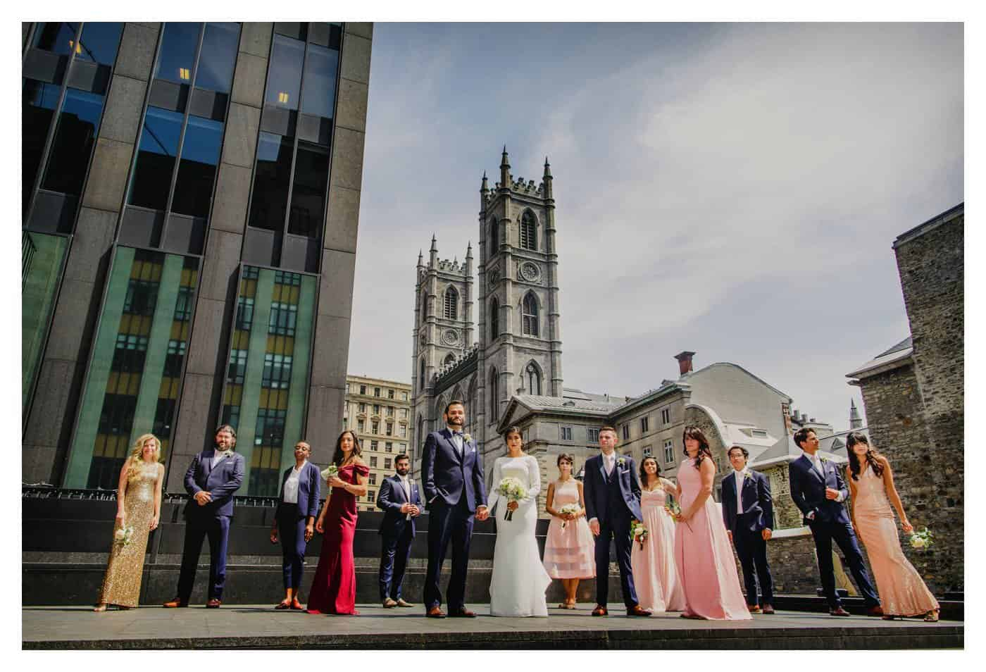 Montreal Basilica wedding Photos