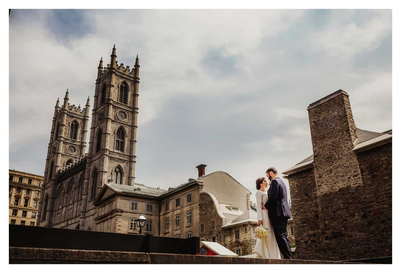 notre dame wedding montreal