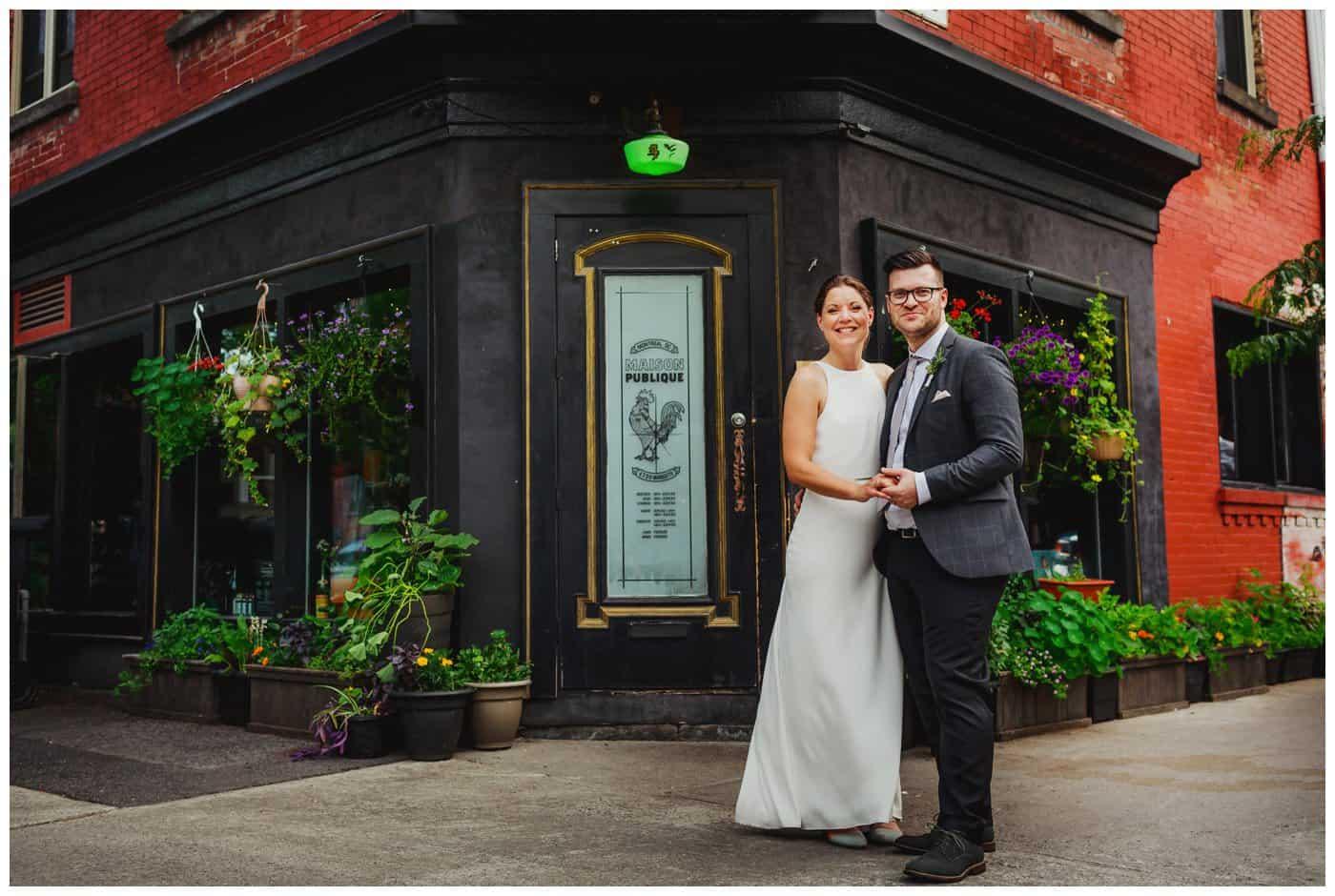 maison publique montreal wedding
