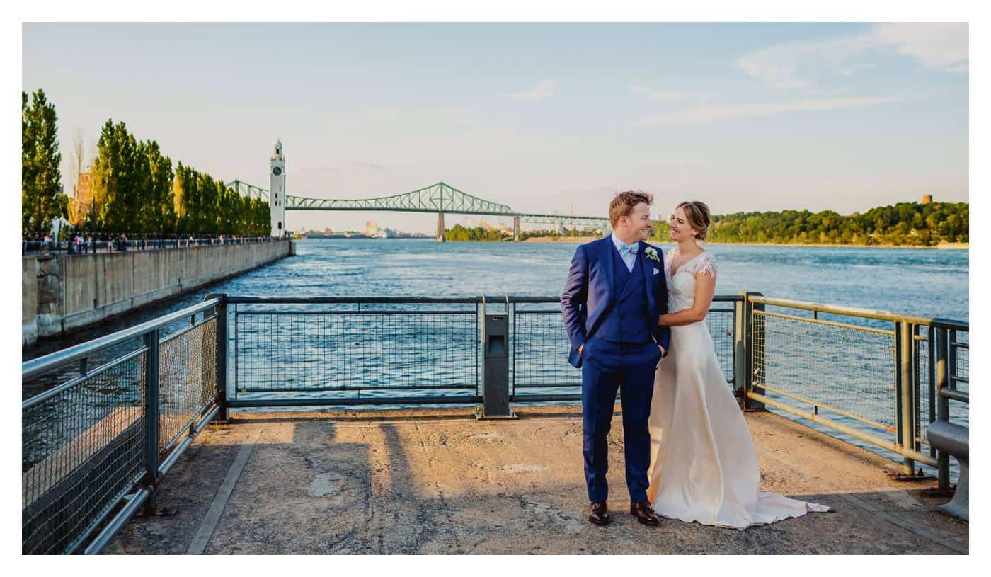 Old Port Montreal wedding photos