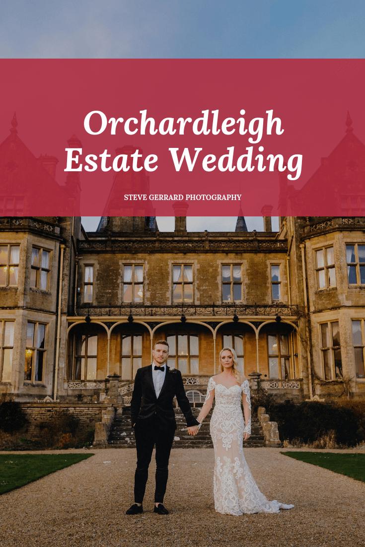 Wedding photo taken at Orchardleigh Estate
