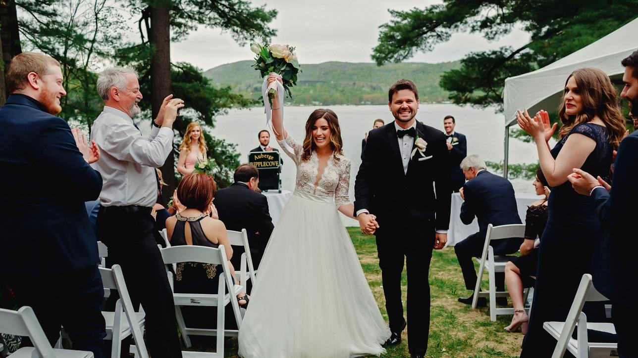 Ripplecove Wedding Ceremony