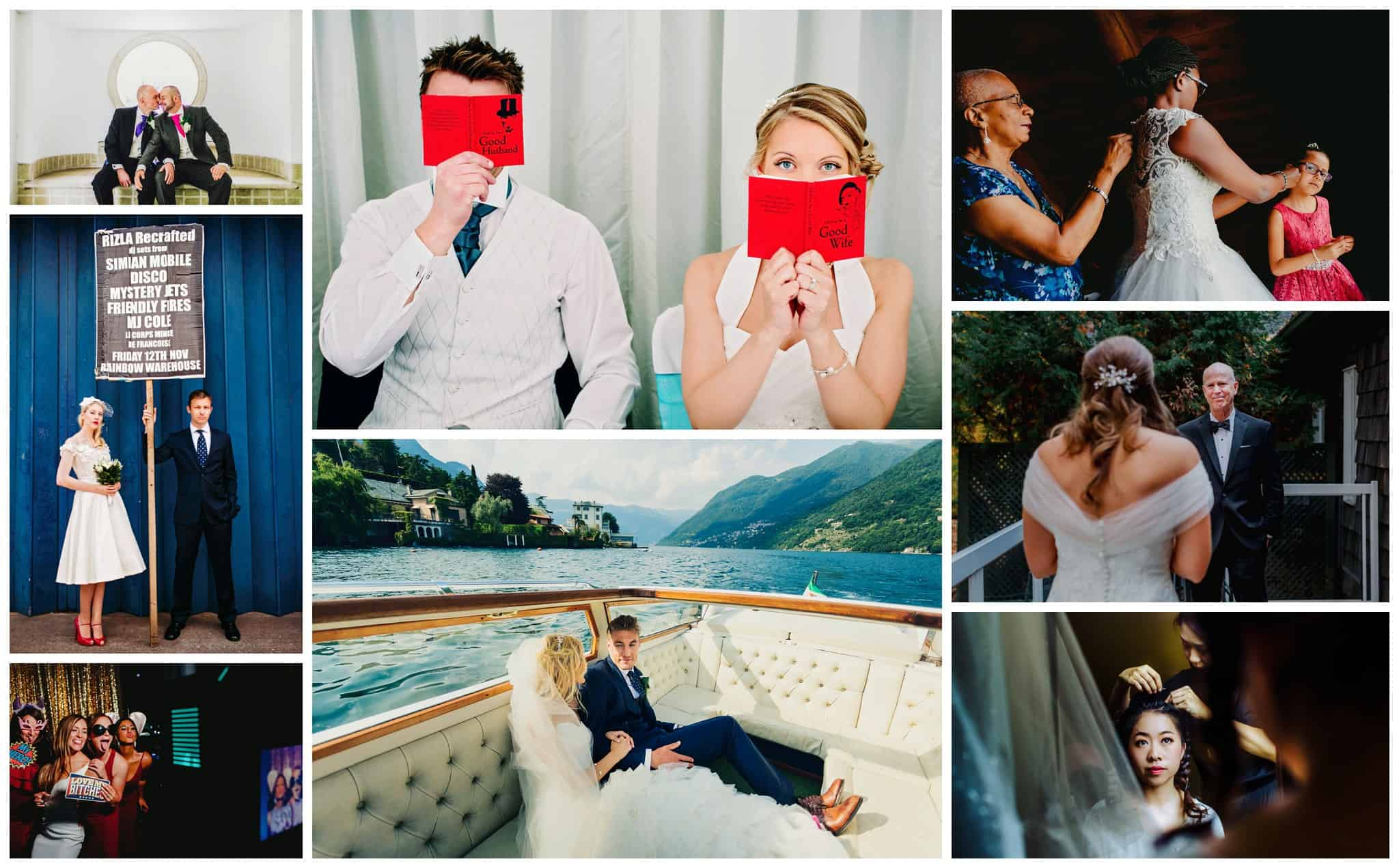 Creative Montreal Wedding Photographer